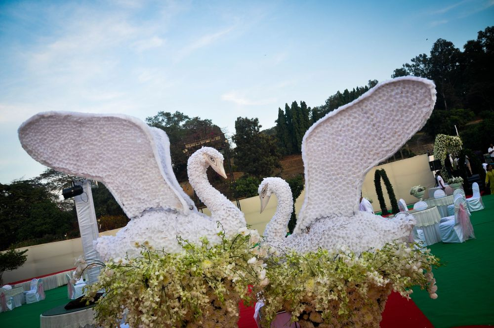 Photo From Lotus Garden Theme Reception - By Bespoke Designs