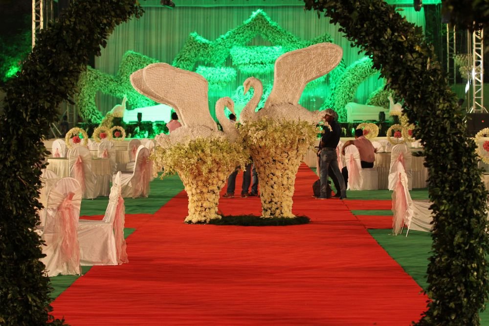 Photo From Lotus Garden Theme Reception - By The Bespoke Design Co