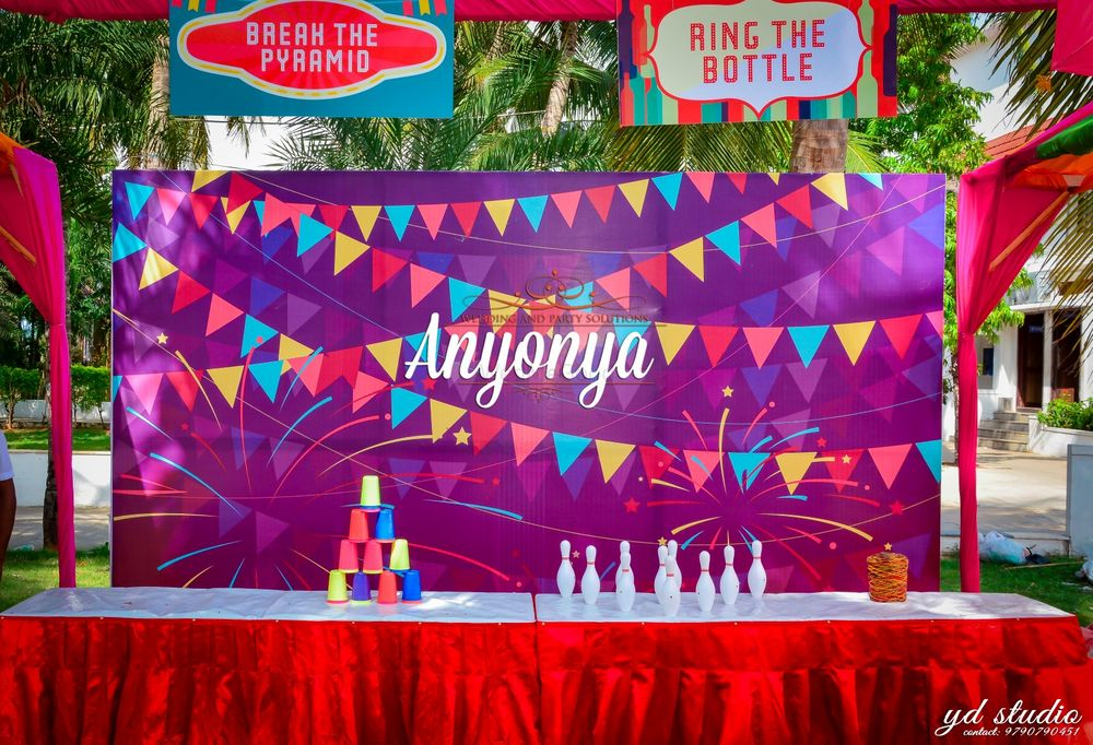 Photo of Ring the Bottle Game for Mehendi Guests