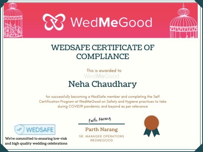 Photo From WedSafe - By Neha Chaudhary MUA