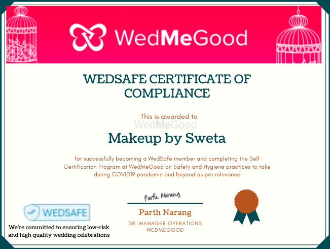 Photo From WedSafe - By Makeup by Sweta