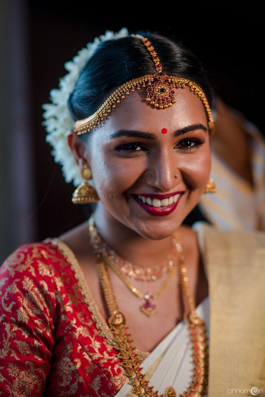Photo of South Indian Bridal portrait.