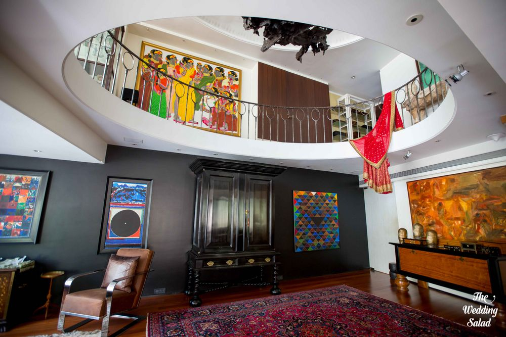 Photo From Anjani & Siddharth: Mumbai Wedding at Bride's own home - By The Wedding Salad