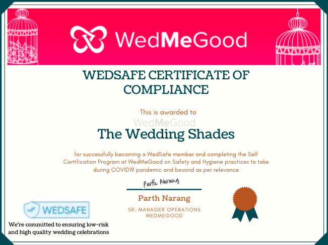 Photo From WedSafe - By The Wedding Shades