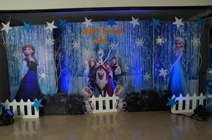 Photo From frozen theme - By Entertaainment Factory