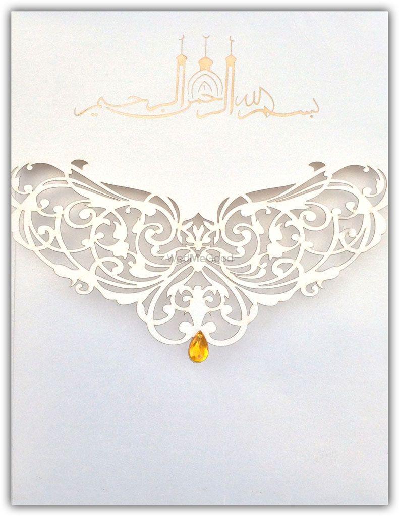 Photo of invitation cards