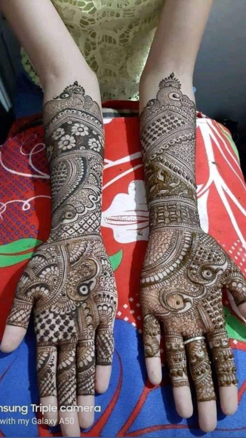 Photo From Seema Sharma - By Krishna Mehndi Art Hyderabad