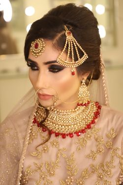 Pakistani Bridal Makeup Ayesha Makeup And Hair Pictures Bridal