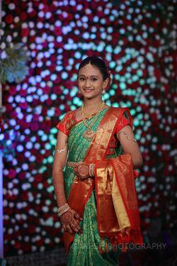 Half Saree Function Karuna Reddy Makeup Artist Pictures Bridal Makeup In Hyderabad Wedmegood