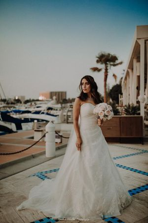 Pretty christian wedding gown