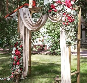 Photo of Fairytale engagement entrance decor