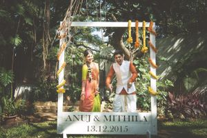 Save the date shot