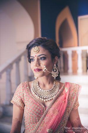 Photo of Minimal bridal jewellery