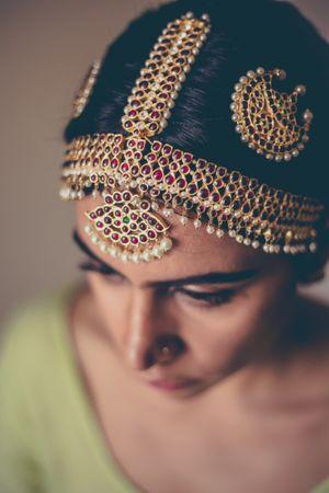 Bridal mathaaptti for South Indian brides