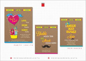 Fun save the date cards