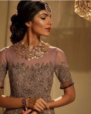 Sangeet or reception bold jewellery