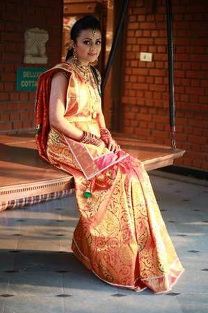 Photo of Gold kanjivaram saree