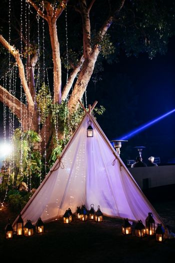Wedding Decor Photo glamping theme