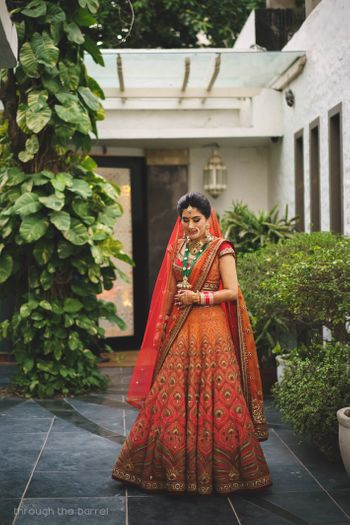 Photo of Ombre bridal tarun tahilani lehenga