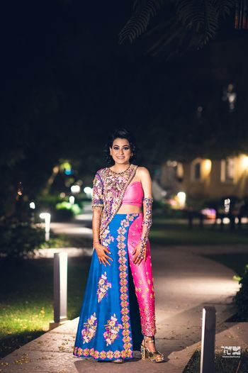 Photo of Unique sangeet outfit for bride