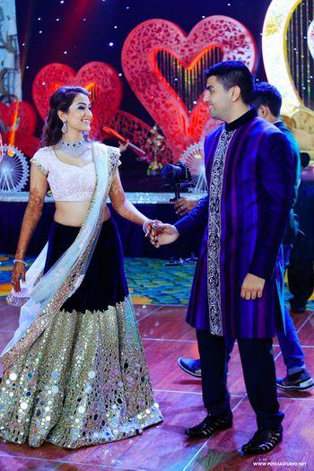 Photo of Sangeet glamorous