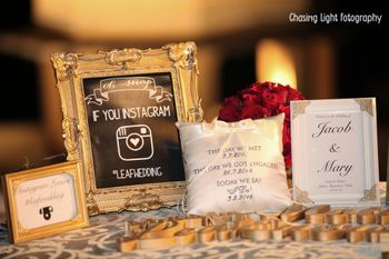 Photo of Personalises Frames and Cushions with Love Story