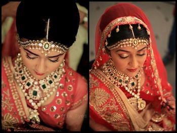 Photo of heavy bridal jewellery