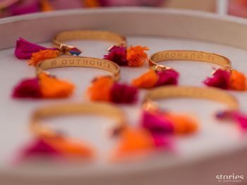 Photo of Mehendi favour idea outhouse bangles