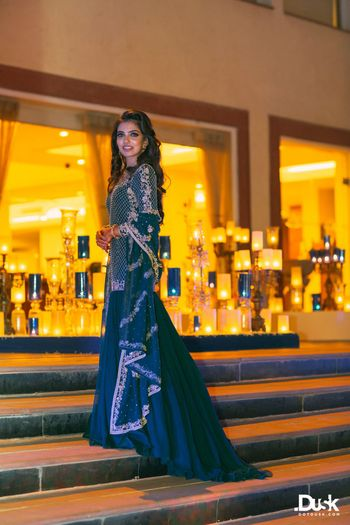 Outfits Photo dark green lehenga