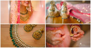 Light Pink Wedding Photoshoot & Poses Photo