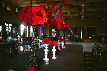 opulent and grand table setting