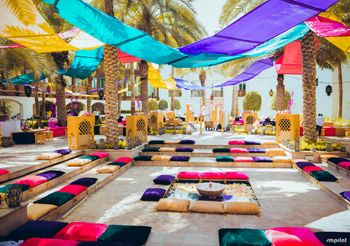 Photo of Moroccan themed mehendi