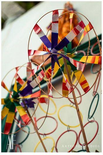 Photo of wheel fan for mehendi prop