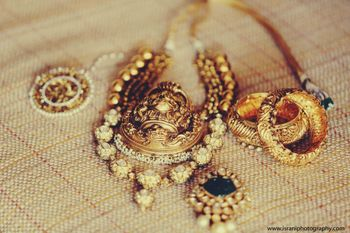 Photo of unique temple jewellery
