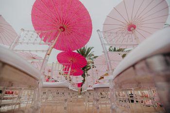 Photo of unique parasol chair decor idea for rain