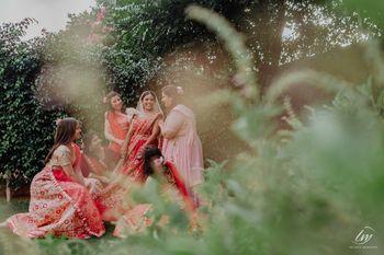 cute bridesmaids photo