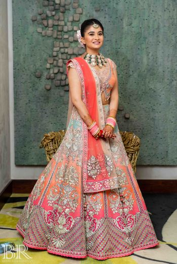 Photo of Offbeat bridal lehenga by ecru