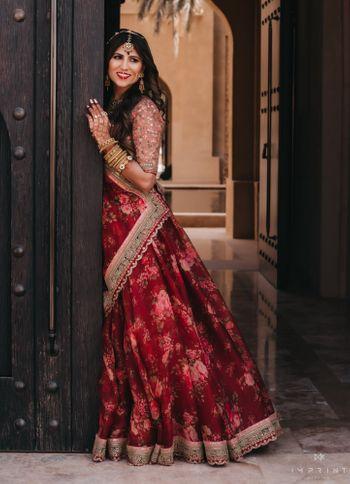 Photo of Light bridal lehenga