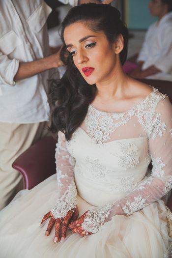 beautiful christian bride