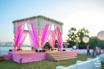 Photo of Mandap with drapes