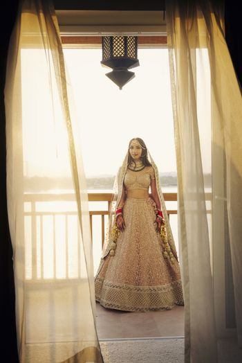 Photo of Soft pink ombre lehenga by Sabyasachi
