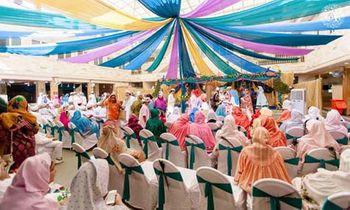 Photo of colourful drapes
