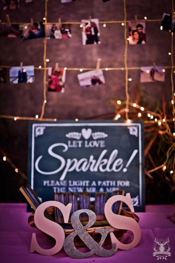 Unique wedding ideas with photographs
