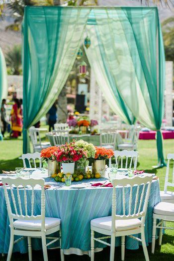 Dark Green Wedding Decor Photo blue and green decor