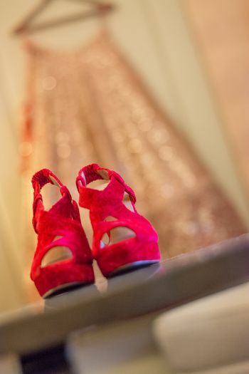 Photo of red shoes