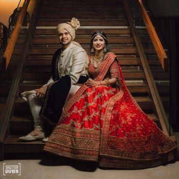 Photo of Regal couple portrait