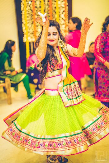 colourful lehenga