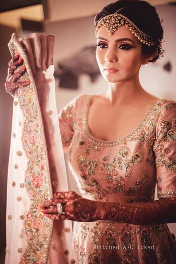 Photo of Getting ready dupatta wearing shot