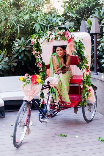mehendi rickshaw