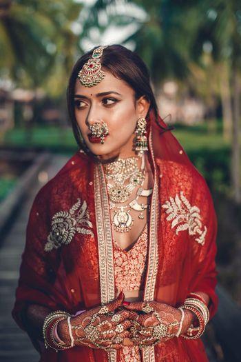 Offbeat bridal jewellery tribal